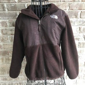 The North Face Polartec Fleece Jacket Brown
